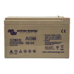 Victron Energy, artnr: BAT212120086, 12V/14Ah AGM Deep Cycle Batt.