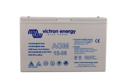 Victron Energy, artnr: BAT412038081, AGM Super Cycle Batteri 12V/38Ah