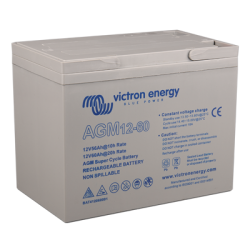 Victron Energy, artnr: BAT412060081, AGM Super Cycle-batteri 12V/60Ah