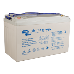 Victron Energy, artnr: BAT412112081, AGM Super Cycle-batteri 12V/125Ah