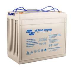 Victron Energy, artnr: BAT412117081, AGM Super Cycle-batteri 12V/170Ah