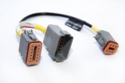 Yacht Devices, artnr: EVC-A-EC12, EVC-A EC 12-pin X5:MULTILINK adapterkabel för YDEG-04.