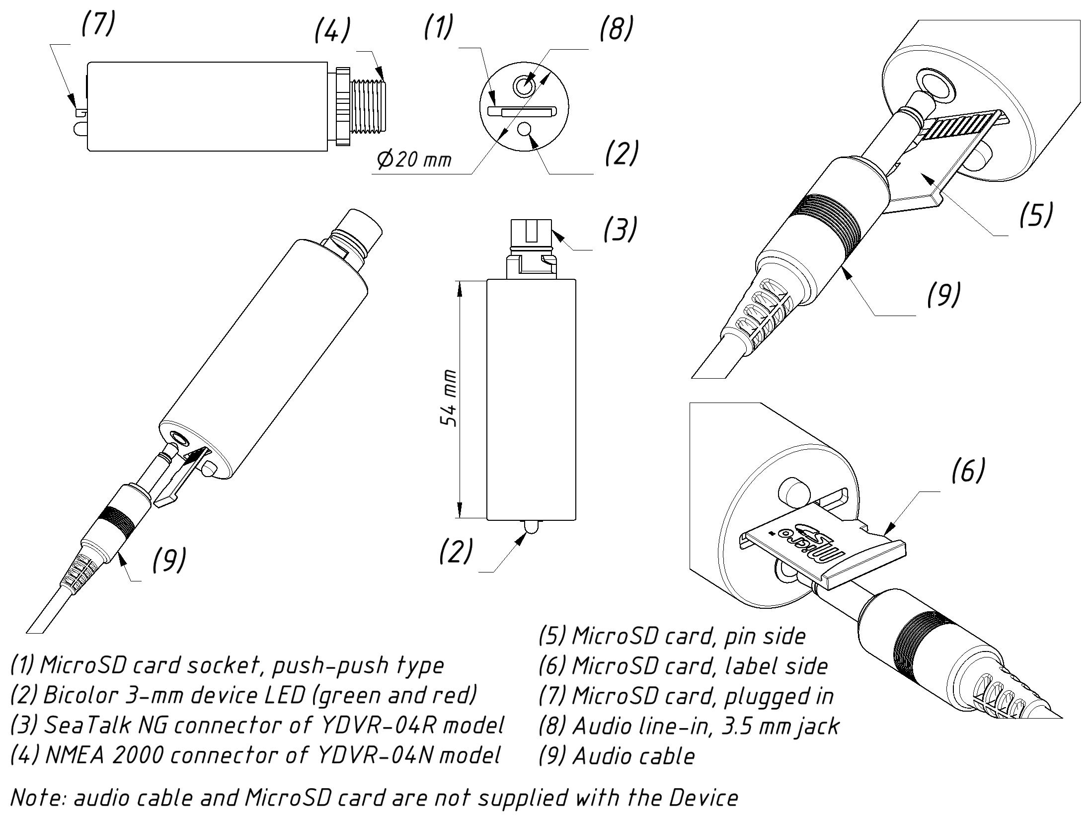 ydvr04 drawing